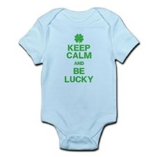 Keep Calm Be Lucky Body Suit