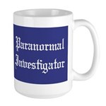 Haunted Mansion Paranormal Investigator Large Mug