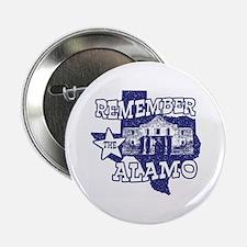 Texas Remember the Alamo Button