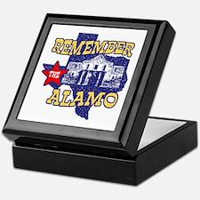 Texas Remember the Alamo Keepsake Box