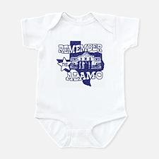 Texas Remember the Alamo Infant Bodysuit