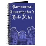 Haunted Mansion Paranormal Investigator Journal