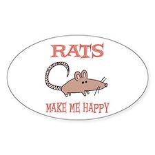 Rats Rectangle Decal