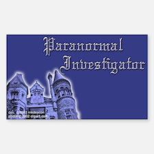 Haunted Mansion Paranormal Investigator Decal