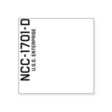 Enterprise NCC-1701-D Sticker