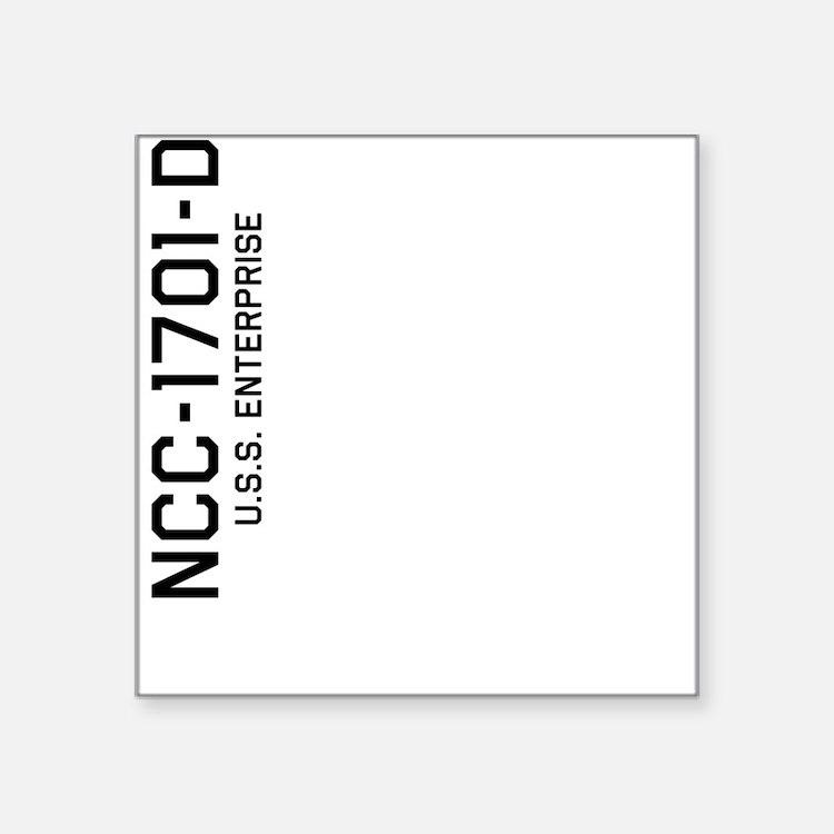 Enterprise NCC-1701-D Sticker