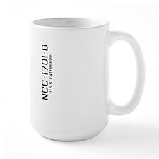 Enterprise NCC-1701-D Mug