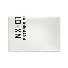 Enterprise NX-01 Rectangle Magnet