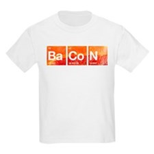 I Love Bacon and a Periodic Table T-Shirt