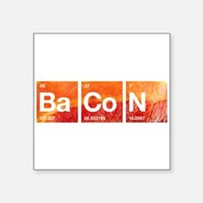 I Love Bacon and a Periodic Table Sticker