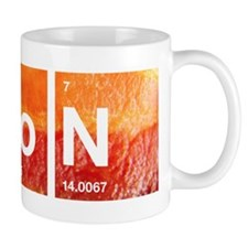 I Love Bacon and a Periodic Table Mug