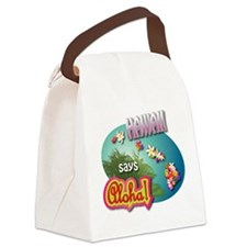Cute Molokai Canvas Lunch Bag