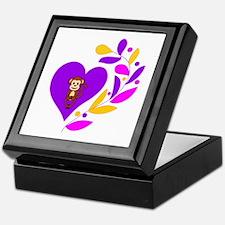 Monkey heart Keepsake Box