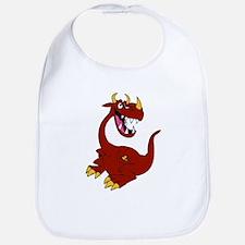 Cayenne the Dragon Bib