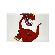 Cayenne the Dragon Rectangle Magnet