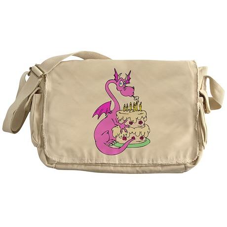 Pansy the Dragon Messenger Bag