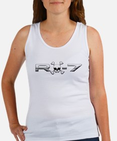 RX-7 Skull Women's Tank Top