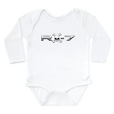 RX-7 Skull Long Sleeve Infant Bodysuit