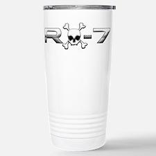 RX-7 Skull Stainless Steel Travel Mug