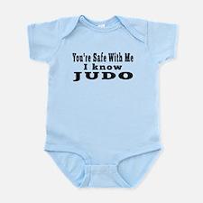 I Know Judo Infant Bodysuit