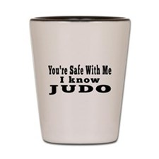 I Know Judo Shot Glass
