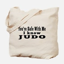 I Know Judo Tote Bag