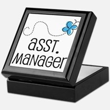 Cute Assistant Manager Keepsake Box