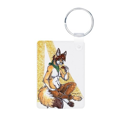 Haz a cookie Aluminum Photo Keychain