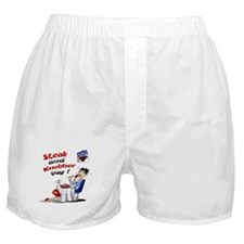 Steak and Knobber Day Logo Boxer Shorts