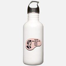 Cute Social workers Water Bottle