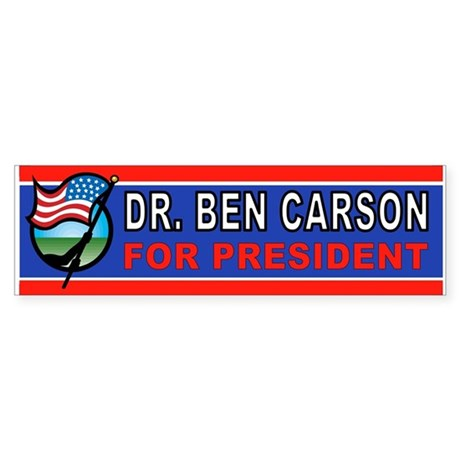 BEN CARSON Bumper Sticker