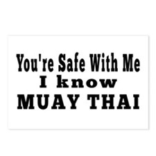 I Know Muay Thai Postcards (Package of 8)