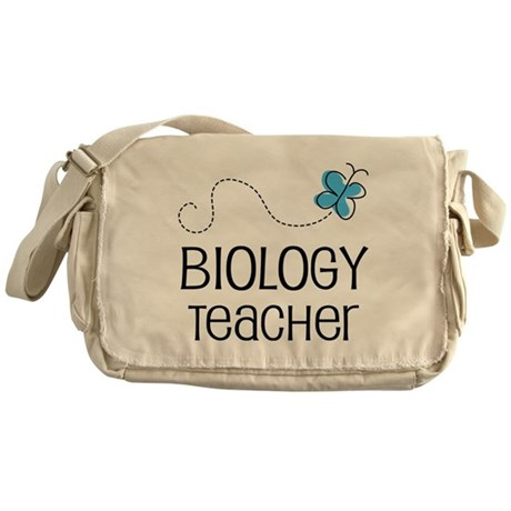 Cute Biology Teacher Messenger Bag