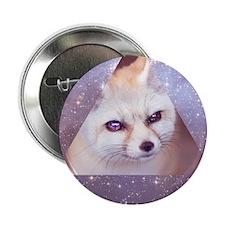 "Hipster fennec 2.25"" Button"