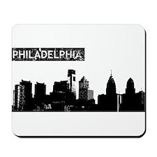 Philadelphia Skyline Mousepad