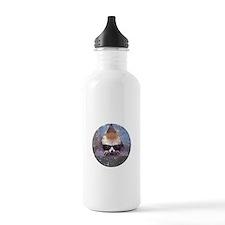Hipster fennec Sports Water Bottle