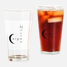 Carpe Noctem Drinking Glass