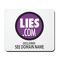 Lies.com Mousepad