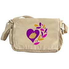 Hamster Heart Messenger Bag