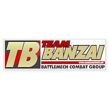 Banzai Institute Bumper Bumper Sticker