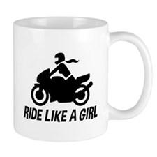 Ride Like A Girl Mug