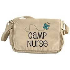 Cute Camp Nurse Messenger Bag
