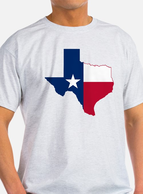 Texas Flag Map - T-Shirt