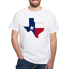 Texas Flag Map - Shirt