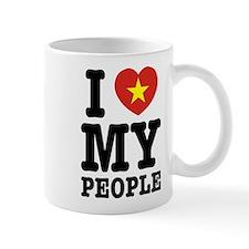 I Heart (Love) My Viet People Small Mug