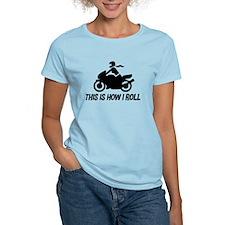 Female Motorcyclist T-Shirt