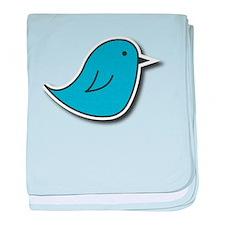 Vox Blue Bird baby blanket