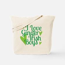 Ginger Irish Boys Tote Bag