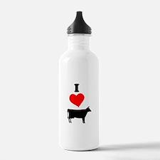 I heart Cow Water Bottle