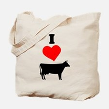 I heart Cow Tote Bag
